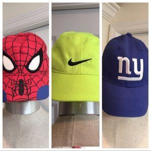 Nike, NY-NFL, Spider-Man, Youth hats